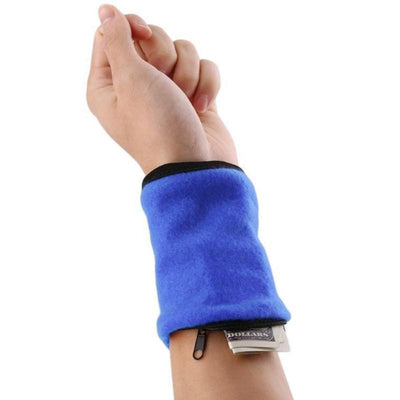 Wrist Wallet Fitness Band Wristbands (Set of 4)