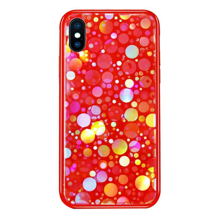 Protective iPhone X Interactive Glitter Case