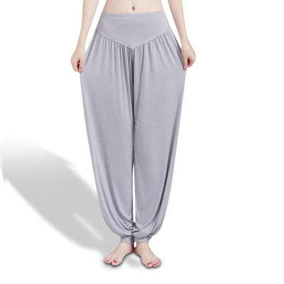 Full-Length Bloomer Style Yoga Pants