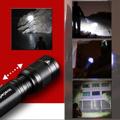 Small Survival LED Flashlight