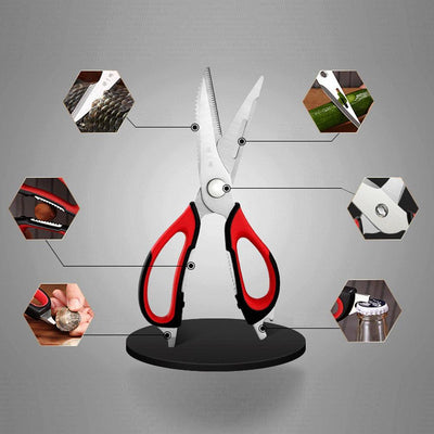 Multi-Function Stainless Steel Kitchen Shears