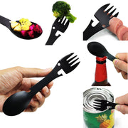 Camping Knife Fork Spoon All-in-one