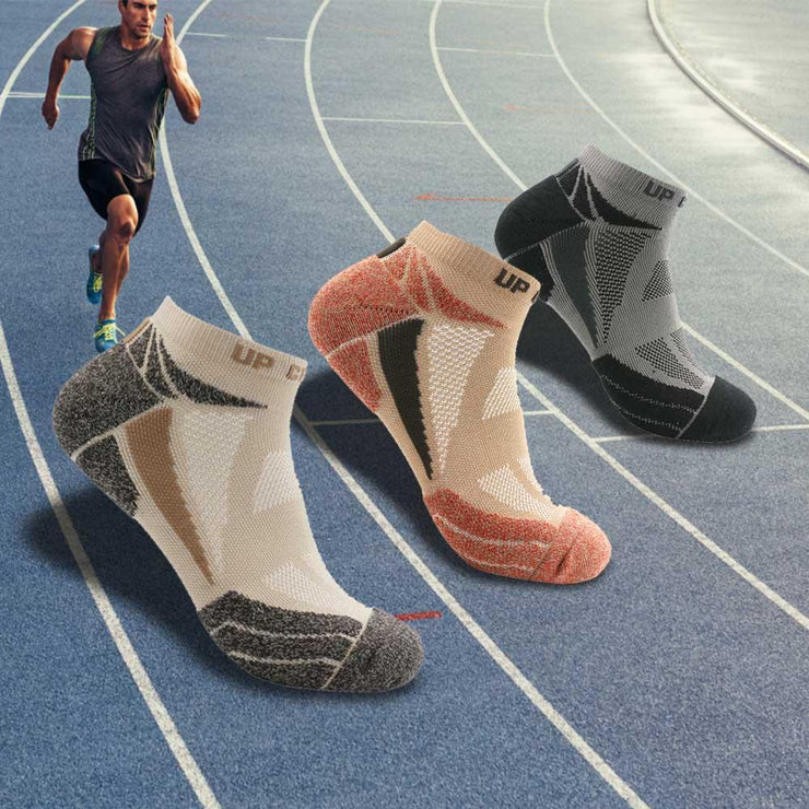 Breathable Sports Socks (Set of 3)