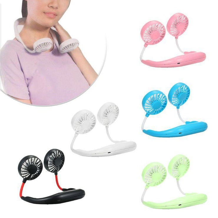 Portable Neck Fan Personal Hanging Neckband
