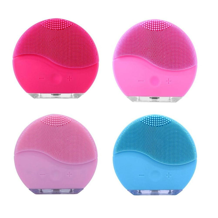 Electric Silicone Face Scrub Brush And Massager For Facial Cleansing A Toughm
