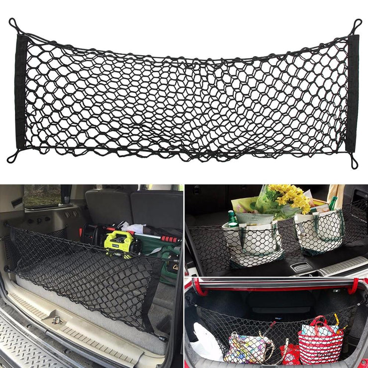 Cargo Net Car Trunk Storage Nylon Elastic Mesh Net Holder