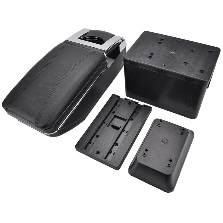 Center Console Car Armrest Rotatable Universal Storage Box