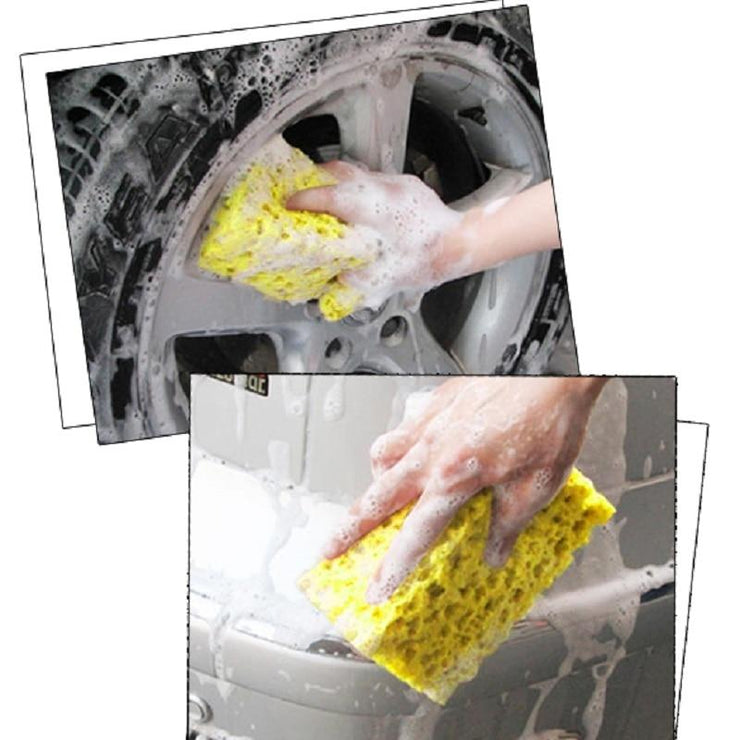 Car Wash Sponge Macroporous Auto Cleaning Cloth (Set of 3)