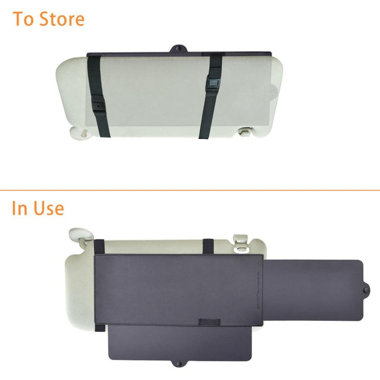 Car Sun Visor Extender UV Rays Blocker And Anti Glare
