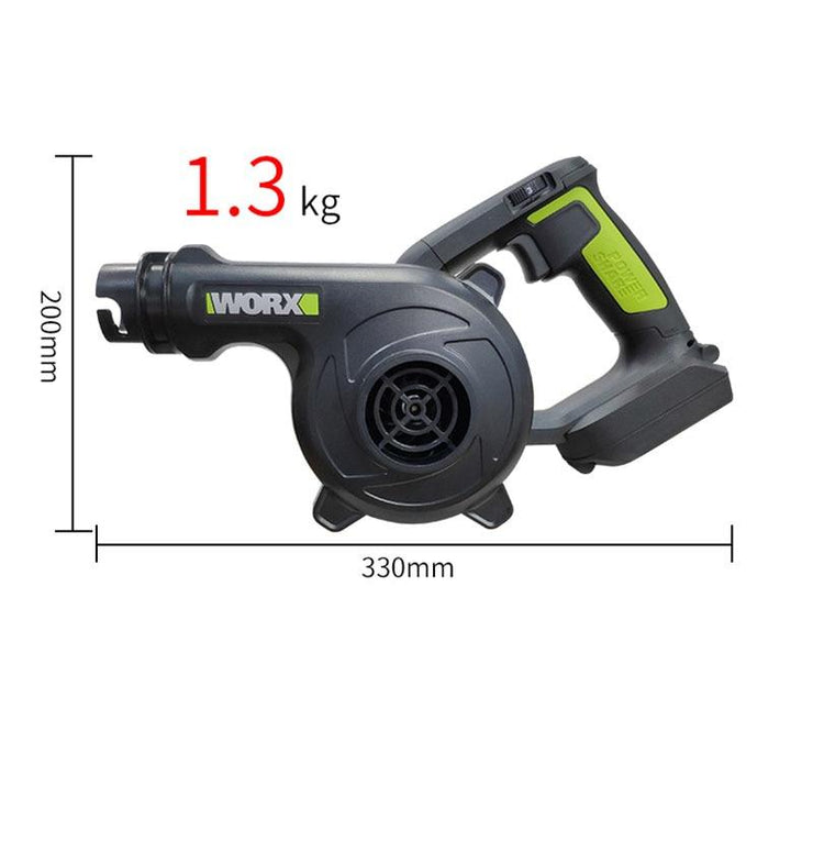 Cordless Leaf Blower 3 Speed 40V Li-ion Heavy Duty Handheld Turbine Sweeper