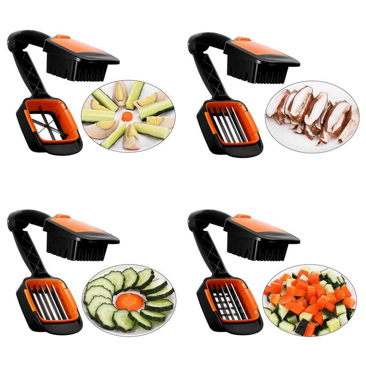 Vegetable Chopper And Dicer 5 in 1 Food Slicer Cutter