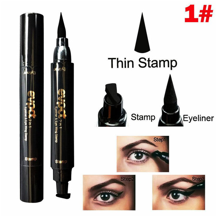 Sexy Wing Eyeliner Stamp-on and Pencil