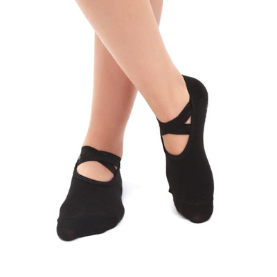 Non Slip Socks for Yoga (Set of 4)