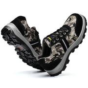 Stylish Camo Steel Protection Work Shoes