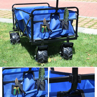 Outdoor Camping Foldable Wagon