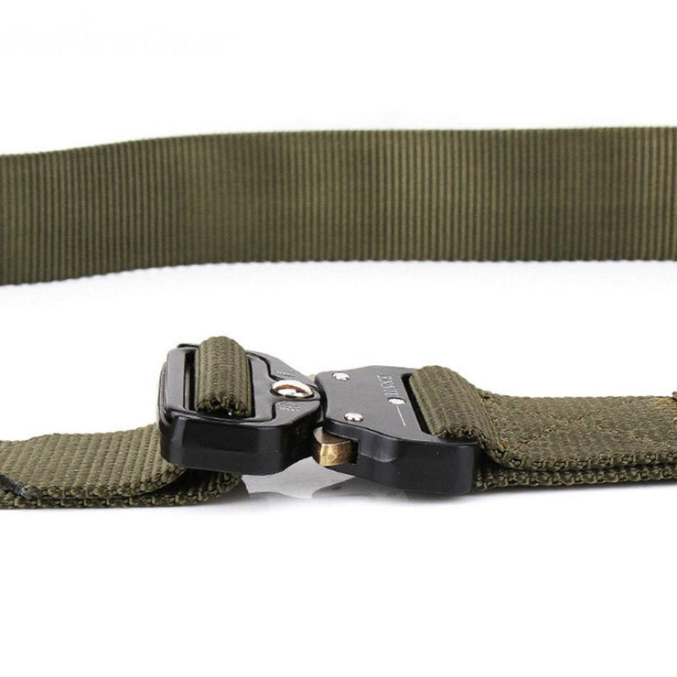 Heavy Duty Military Buckle Belt