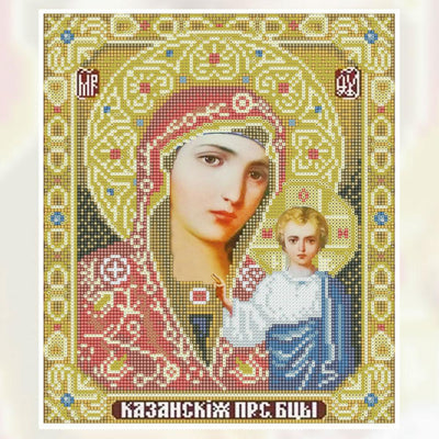 TLK ® DIY DIAMOND PAINTING – CROSS STITCH (RELIGIOUS ICON)