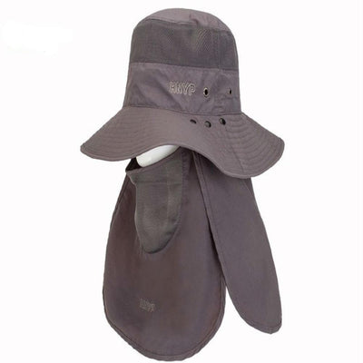 TLK® Outdoor WIDE BRIM BUCKET HAT WITH STRING, Waterproof