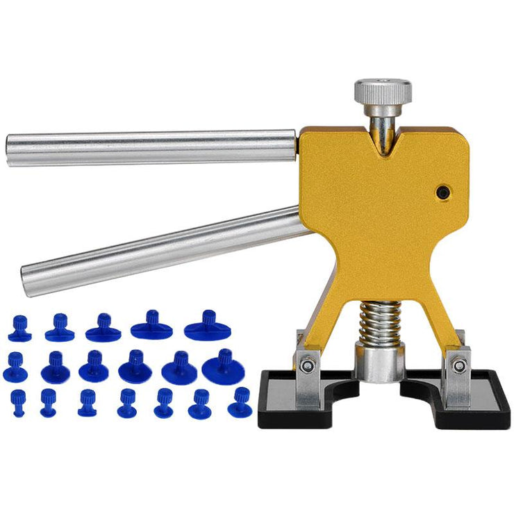 Paintless Dent Lifter Kit  +18  Tabs Hail Removal Tool