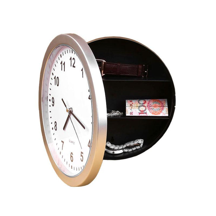 Secret Storage Wall Clock