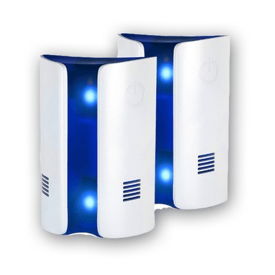 Ultrasonic Pest Repeller Electronic Pest Control With Dual Ultrasonic Speaker (Set of 2)