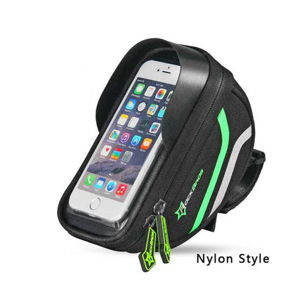 Waterproof Cycling Pannier Touch Screen Case