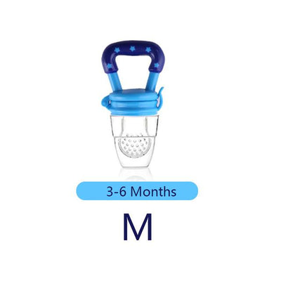Baby Pacifier Fresh Food Milk Nibbler Feeder, 1PC
