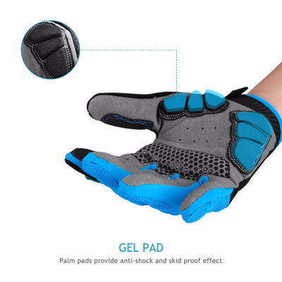 Breathable Cycling Touch Screen Gloves