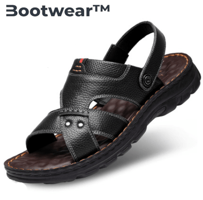 Bootwear™ Mens Sandals Leather Straps