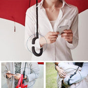 TLK WINDPROOF REVERSE FOLDING DOUBLE LAYER INVERTED UMBRELLA