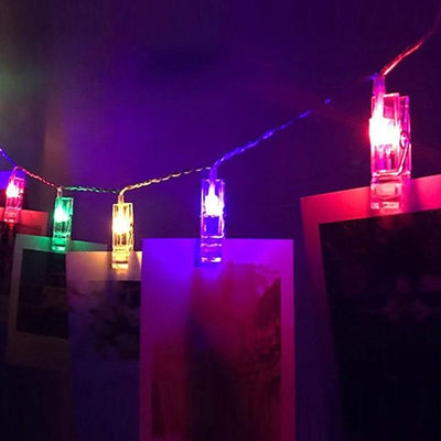 Bright Memories Photo Clip String Lights