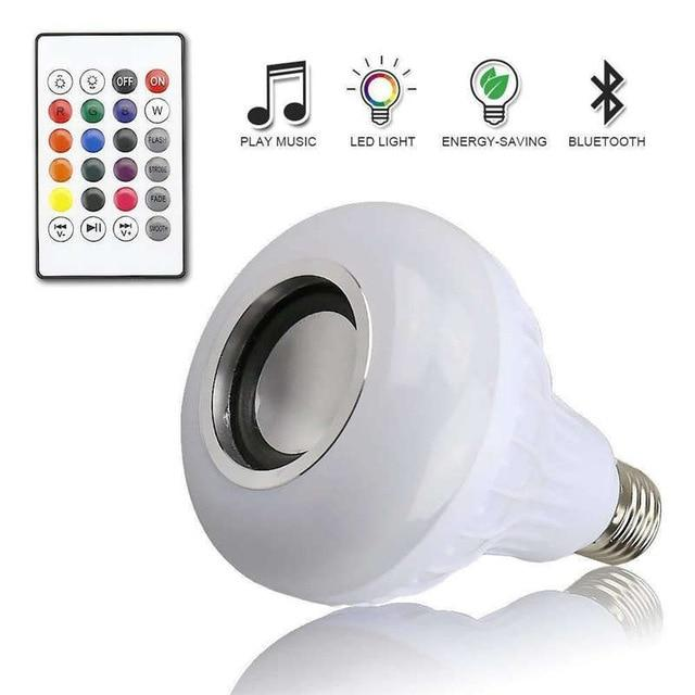 Smart Bluetooth Light Bulb Speaker
