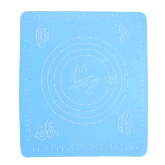 Non-Stick Silicone Baking Mats with Scale