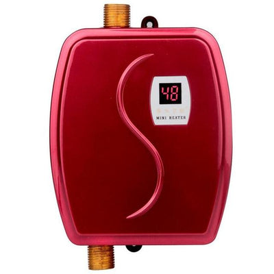 Tankless Water Heater Electric Instant Heater With Temperature Display