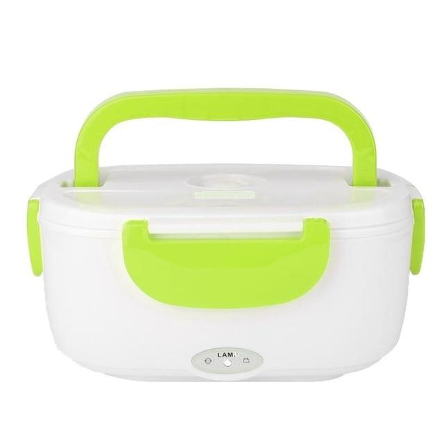 Electric Heated Lunch Box Warmer With 12V Car Charger
