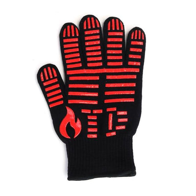Heat Resistant Barbecue Grill Mitt Glove