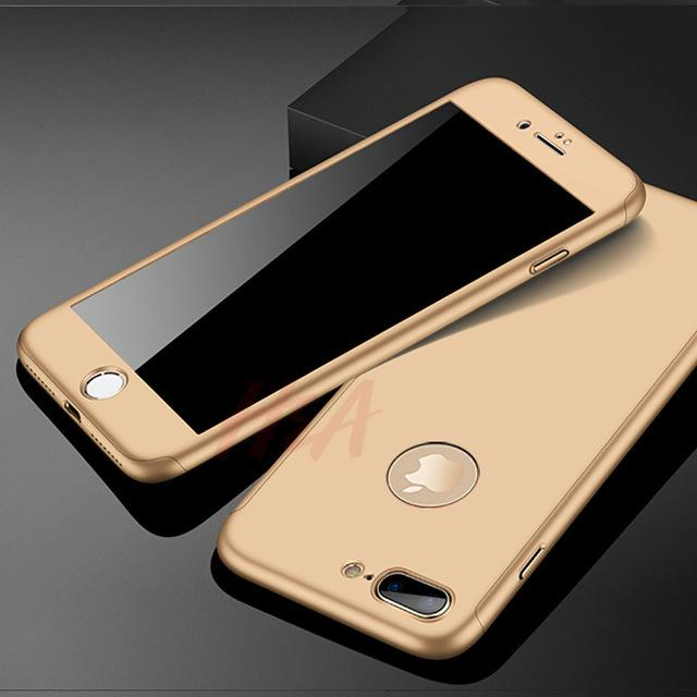 sports shoes b8996 b0ffb H&A Luxury 360 Degree Full Cover Case For iPhone 6 6s 7 8 Plus Phone ...