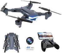 Drone with HD camera 4K HD Camera Drone Quadcopter Foldable Gravity Control