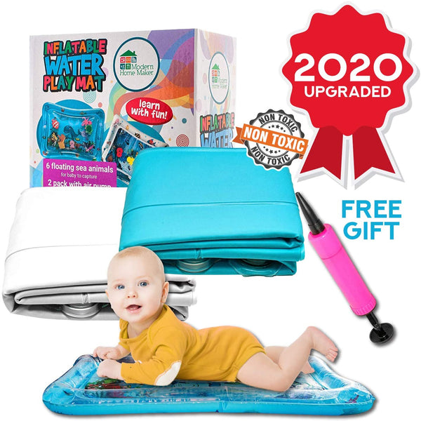 Water Tummy Time Mat Tummy Time Pillow Baby Water Play Mat Water Mat Baby for Infants