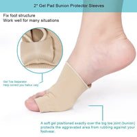 Flexible Fabric Bunion Straightener Daytime (1 Pair) - ModernKitchenMaker.com