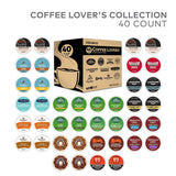 Keurig Coffee Lovers' Collection Sampler Pack, Single Serve K-Cup Pods, Compatible with all Keurig 1.0/Classic, 2.0 and K-Café Coffee Makers, Variety Pack, 40 Count - ModernKitchenMaker.com