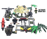 Compatible Lego Army Men Minifigures Action Bricks Gorilla Warfare Army Soldier & Vechiles Set