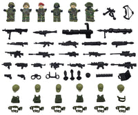Compatible Lego Army Men Military Special Intelligence Alpha Team Mini figure Set