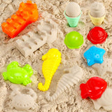 Beach Toy Outdoor Play for Kids Sand Toy,  Molds, Shovel,  Build Sand Castles