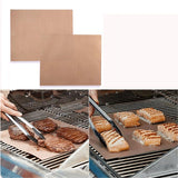 Copper BBQ Mats & Baking Sheet (2pcs) - ModernKitchenMaker.com