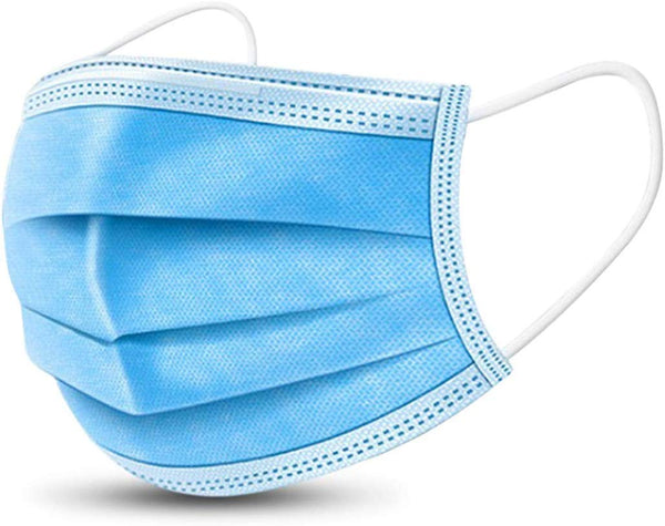 Disposable Surgical Masks with nose wire, Dust Proof Breathable Face Mask with elastic ear loops (50 Pieces) - ModernKitchenMaker.com