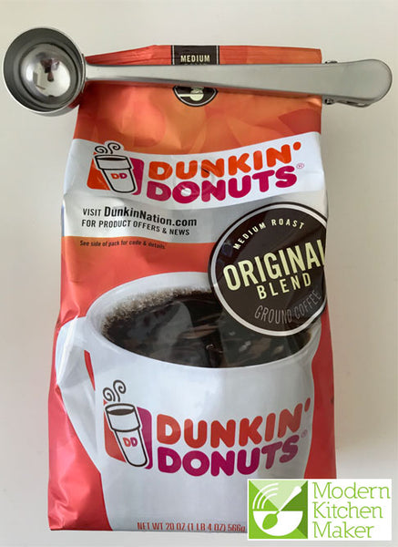 Stainless Steel Coffee Bag Clip - ModernKitchenMaker.com