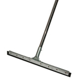 Floor Squeegee Commercial Rubber squeegee Heavy Duty Long Handle Squeegee squeege water broom - ModernKitchenMaker.com