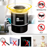 Mosquito Trap Mosquito Killer Lamp Mosquito Lamp UV LED Lights USB Power with Gluey Pads