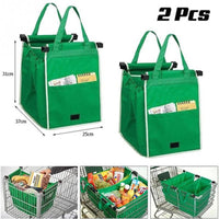 Ultimate Grocery Bag Reusable Large Grocery Bag (Set of 2) - ModernKitchenMaker.com